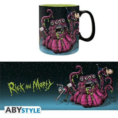 Rick and Morty – Monsters Mug, 460ml