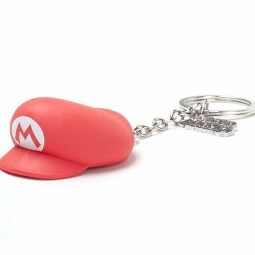 Super Mario – Mario Hat Rubber 3D Keychain