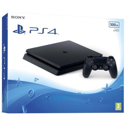 PlayStation 4 Slim 500 GB – Jet Black
