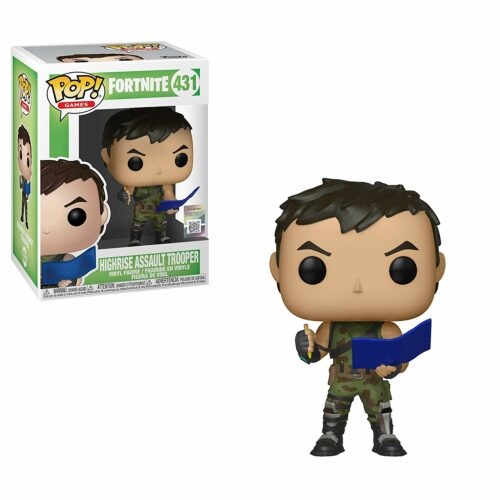 POP! Games: Fortnite – Highrise Assault Trooper Vinyl Figure