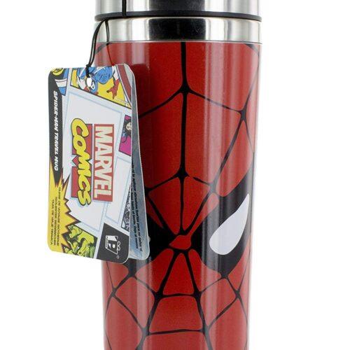 Marvel Comics – Spider-Man Metal Travel Mug, 450ml