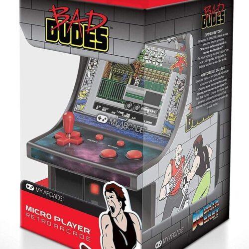 My Arcade – Bad Dudes Micro Player Retro Arcade