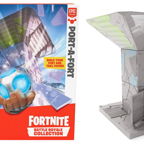Fortnite: Battle Royale Collection – Port-A-Fort Display Set incl. Infiltrator Exclusive Figure