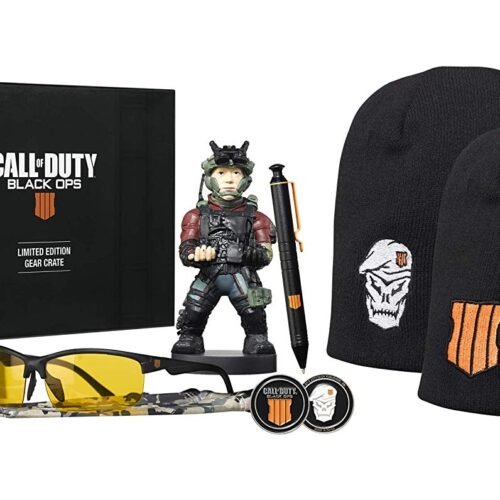 EXG Limited Gear Crate: Call of Duty – Cable Guy, Pen, Beanie, Glasses, Coin and Badge