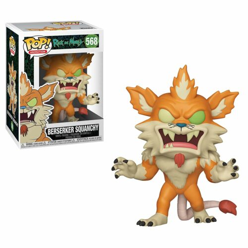 POP! Animation: Rick and Morty – Berserker Squanchy Vinyl Figure