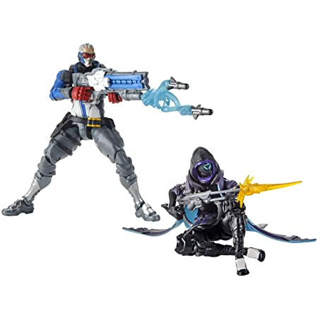 Overwatch: Ultimates 2-Pack – Ana and Soldier: 76 Action Figures, 15cm