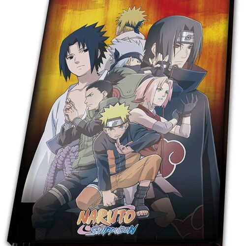 Notebook Naruto Shippuden – Konoha Group, Hardcover A5
