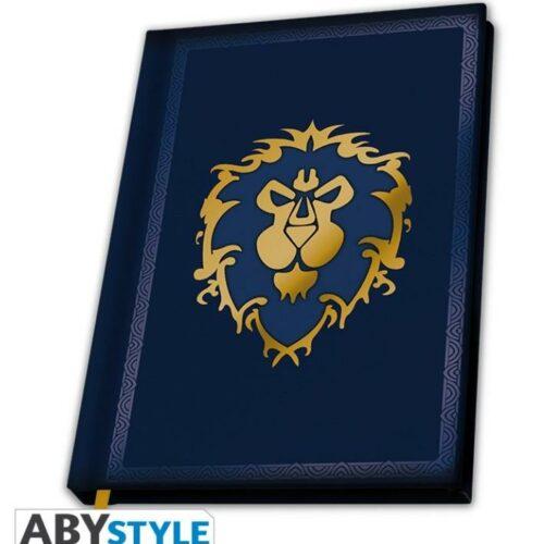 Notebook World of Warcraft – Alliance, Hardcover A5