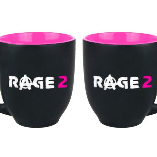 Rage 2 – Logo Two Color Mug, 400ml
