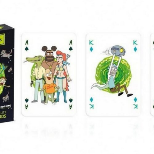 Playing Cards – Rick and Morty
