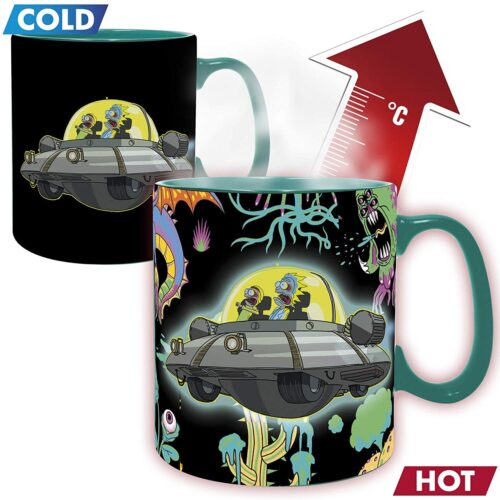 Rick and Morty – Spaceship Heat Change Mug, 460ml