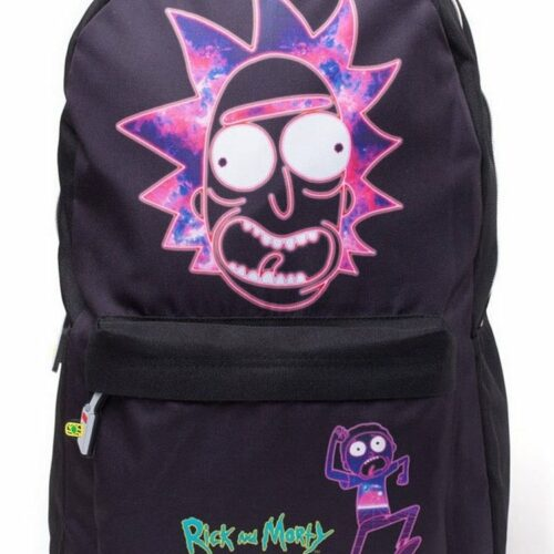Rick and Morty – Rick's Face Backpack, Black
