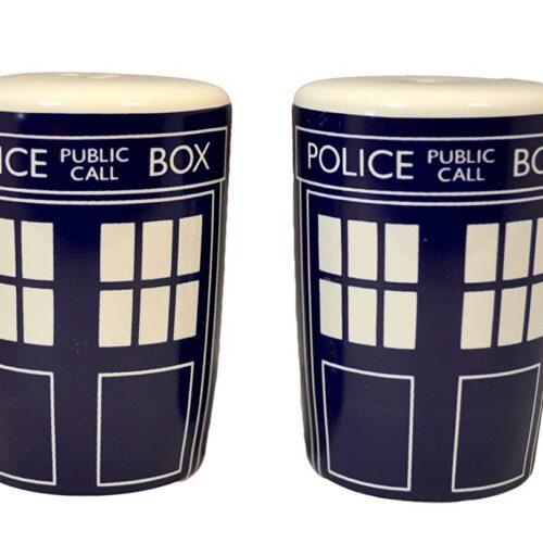 Doctor Who – Tardis Ceramic Salt/Pepper Shakers