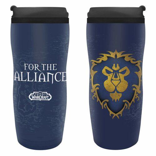 World of Warcraft – Alliance Plastic Travel Mug, 350ml