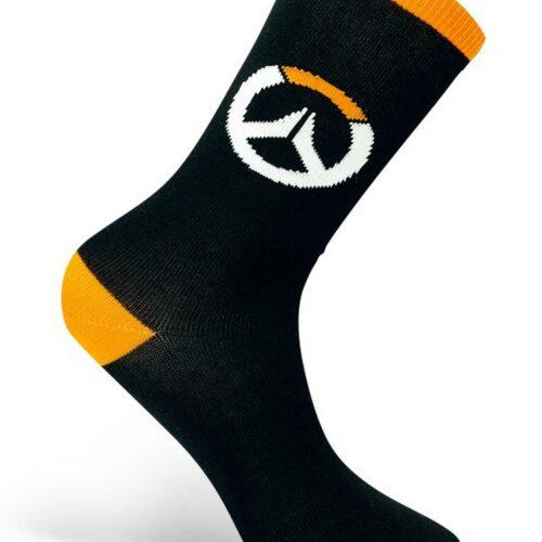 Socks Overwatch – Logo, Black/Orange One Size