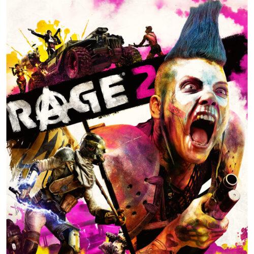 Wallscroll Rage 2 – Key Art, 100x77cm