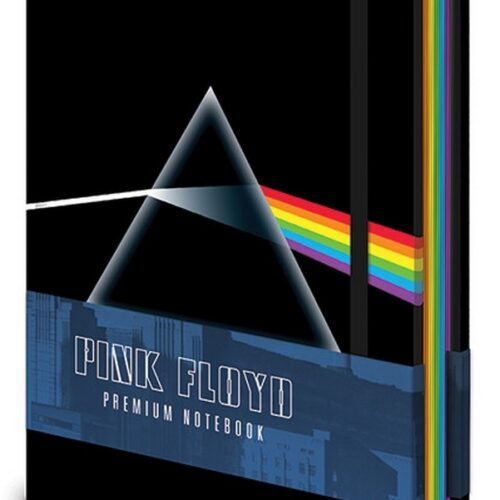 Notebook Pink Floyd – The Dark Side of the Moon, Hardcover A5