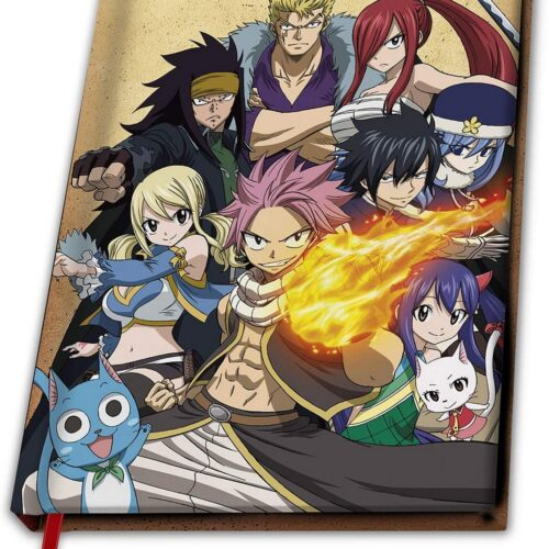 Notebook Fairy Tail – Group, Hardcover A5