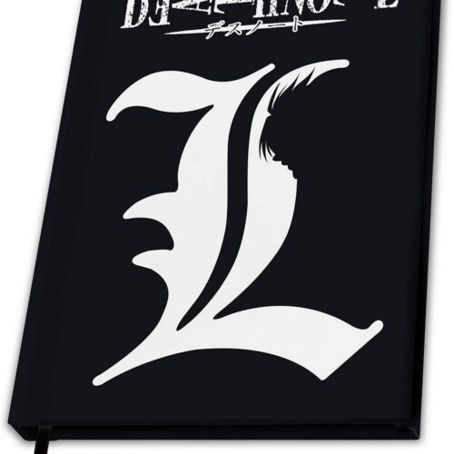 Notebook Death Note – L, Hardcover A5