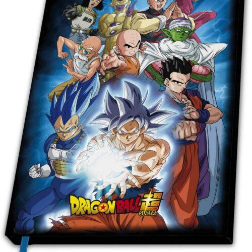 Notebook Dragon Ball Super – Universe 7, Hardcover A5