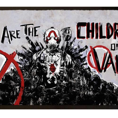 Door Mat Borderlands 3 – Children of the Vault, 80x50cm