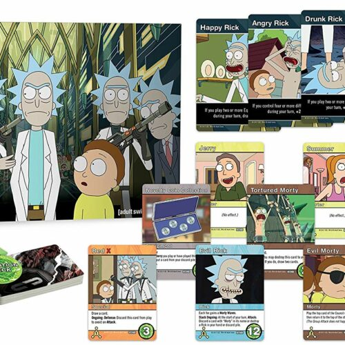 Rick and Morty – Close Rick-Counters of the Rick Kind Deck-Building Game, 2-5 Players