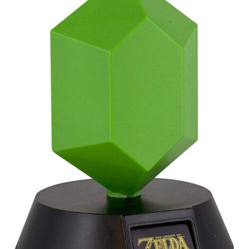 Legend of Zelda – Green Rupee 3D Light, 10cm