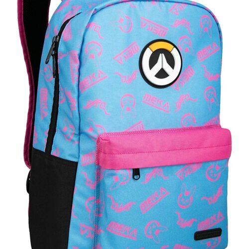 Overwatch – D.Va Splash Backpack, Blue/Pink