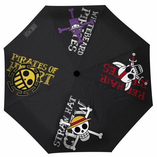 Umbrella One Piece – Pirates Emblems, Auto Open