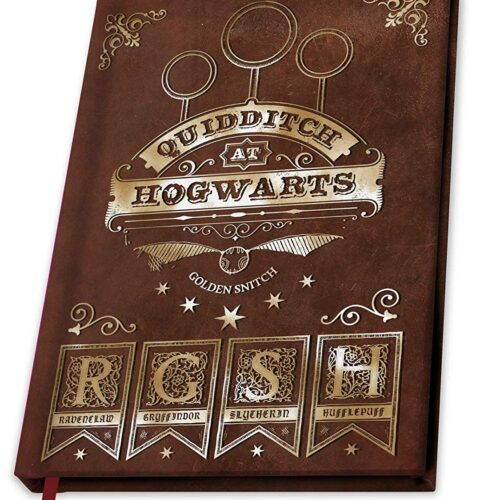 Notebook Harry Potter – Team Quidditch, Hardcover A5