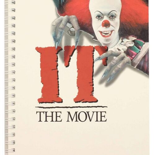 Notebook It 1990 – Movie Poster, Wired A5