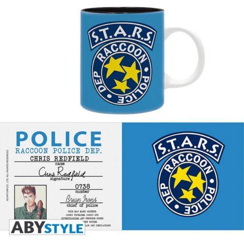 Resident Evil – Racoon Police Badge Mug, 320ml