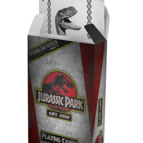 Playing Cards – Jurassic Park