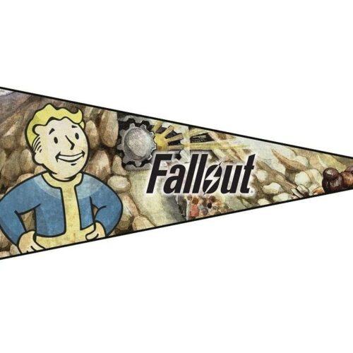Felt Pennant: Bethesda Collection – Fallout (Vault Boy), 75x30cm
