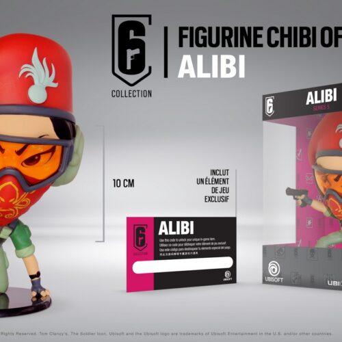 Ubi Collectibles: Six Collection – Alibi Chibi Figure, Series 5