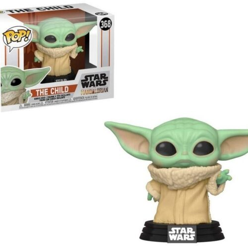 POP! Star Wars: The Mandalorian – The Child (Baby Yoda) Vinyl Bobble-Head