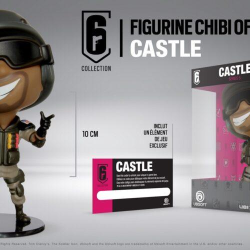 Ubi Collectibles: Six Collection – Castle Chibi Figure, Series 5