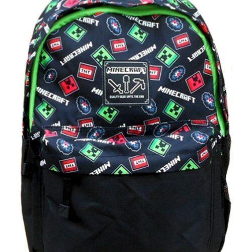 Minecraft – Scatter Creeper Backpack, Black
