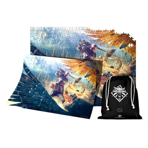 Good Loot Puzzle: Witcher – Griffin Fight, 1000 Pieces