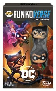 Funkoverse Strategy Game – DC Comics Expandalone Set, 2 Players