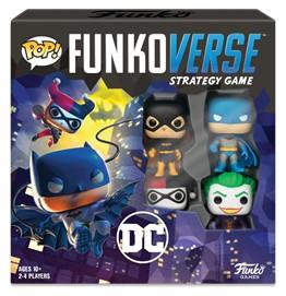 Funkoverse Strategy Game – DC Comics Base Set, 2-4 Players