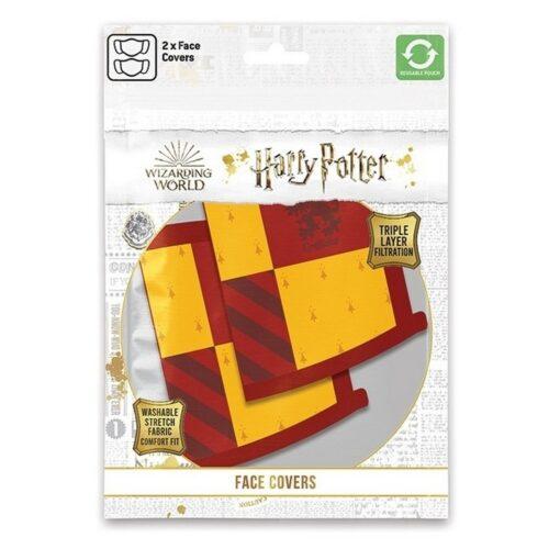 Face Mask 2-Pack: Harry Potter – Gryffindor