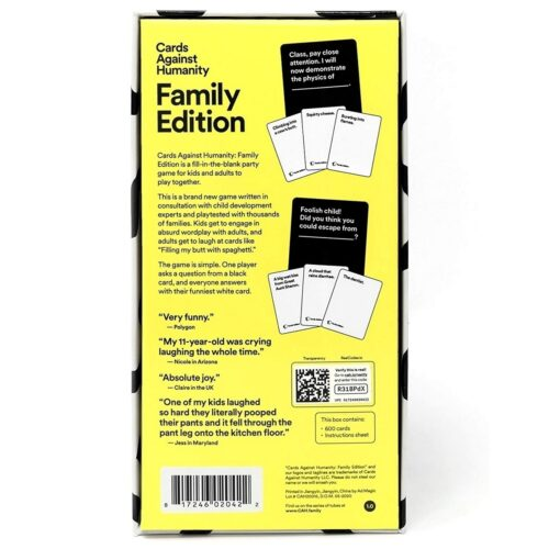 Cards Against Humanity – Family Edition