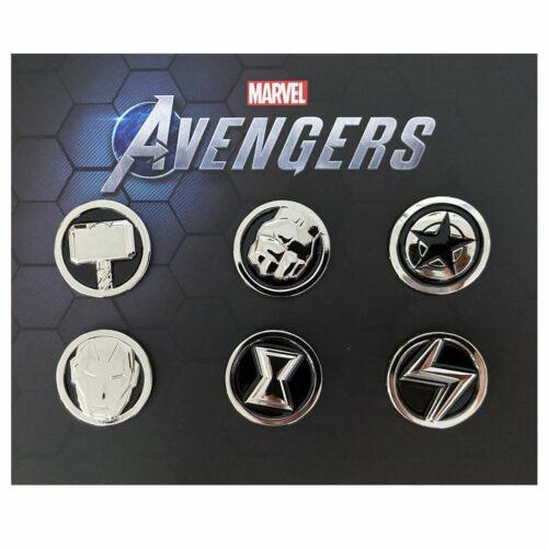 Marvel's Avengers – Super Heroes Pin Badge 6-Pack