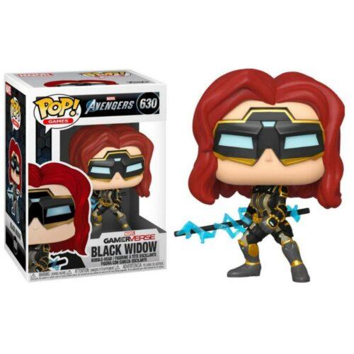 POP! Games: Marvel Avengers – Black Widow (Stark Tech Suit) Vinyl Bobble-Head