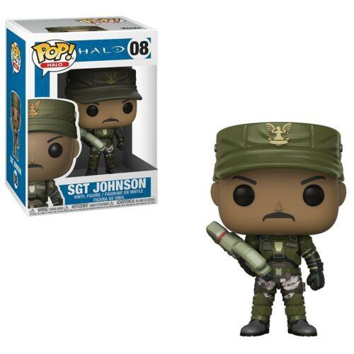 POP! Halo – Sergeant Johnson Vinyl Figure