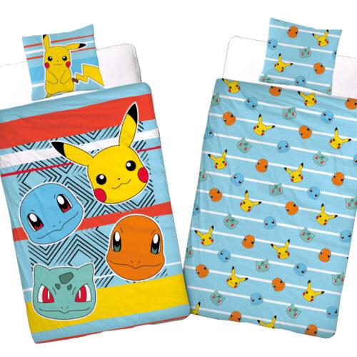 Single Duvet and Pillow Set: Pokemon – Tribe, 100% Cotton