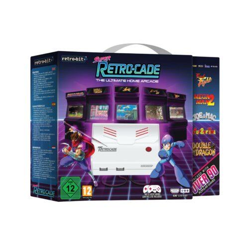Retro-Bit Super Retro-Cade Console incl. 90+ Games