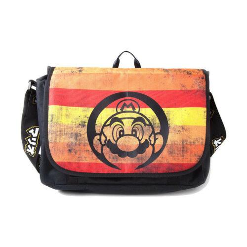Super Mario – Retro Striped Bag