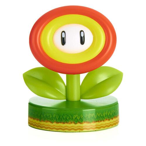 Super Mario – Fire Flower Icon Light, 10cm